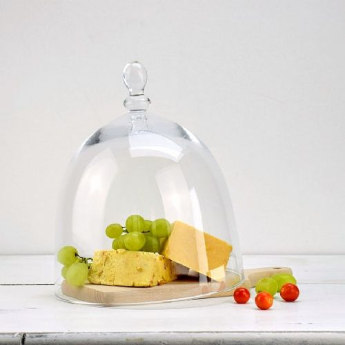 Glass Cheese Dome 20.5cm Roma